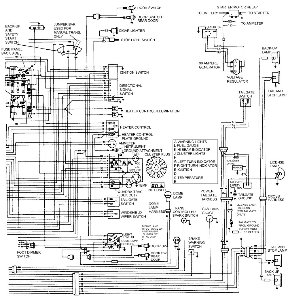 2001 Jeep Cherokee Tail Light Wiring Diagram - Wiring Diagram