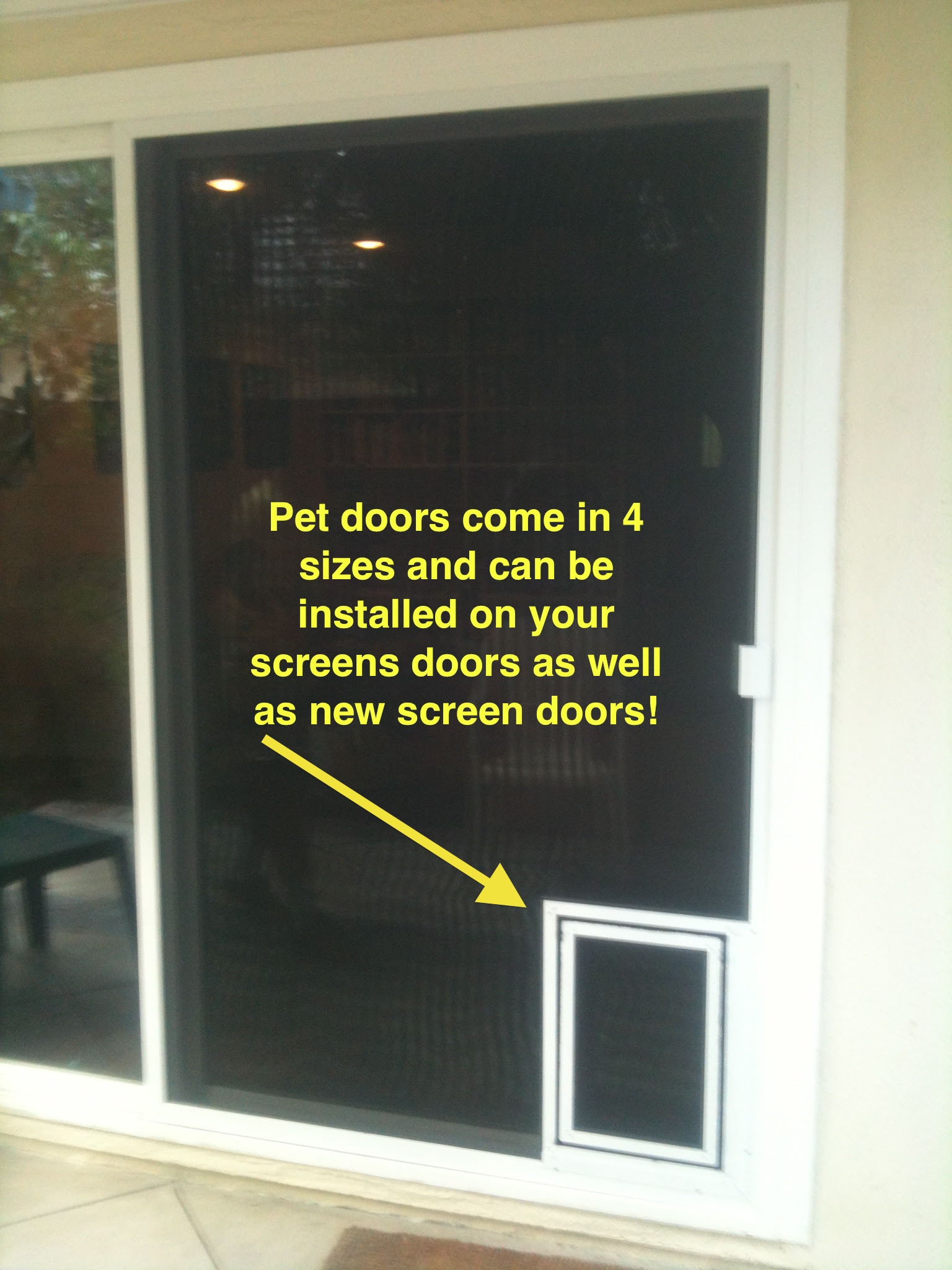 Dog Doors For Screens