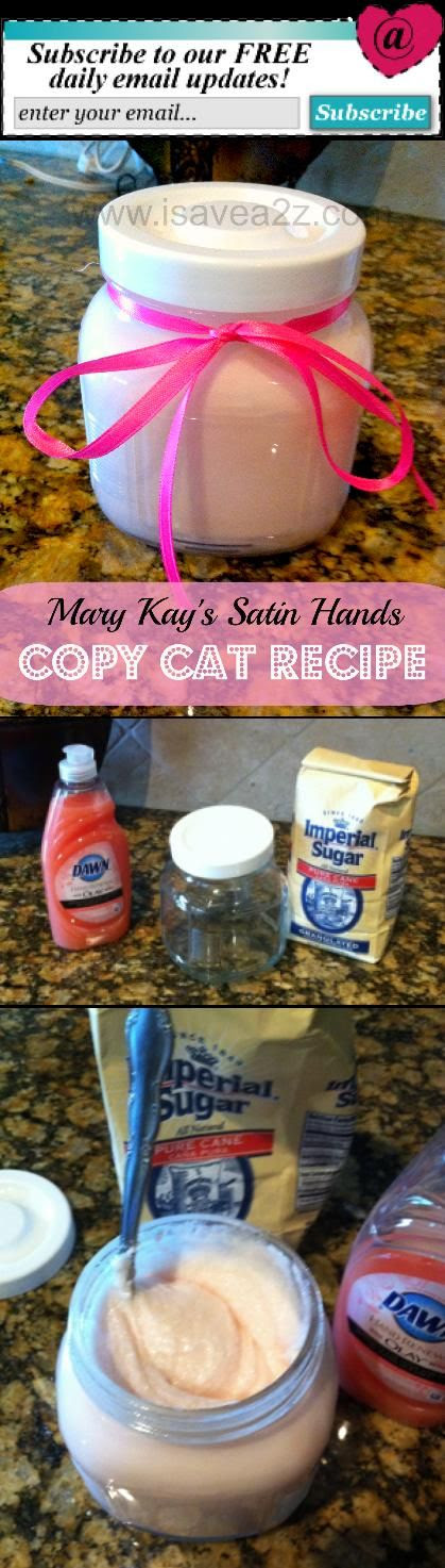 Pamper your hands | Mary Kay copycat recipe