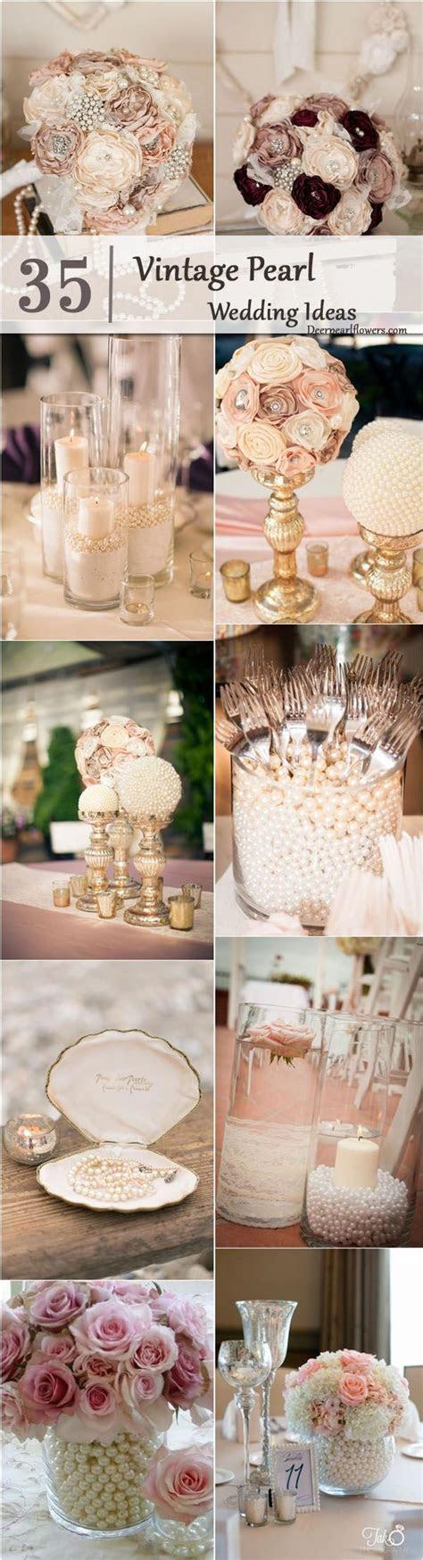 Best 25  Pearl Centerpiece ideas on Pinterest   Lace vase