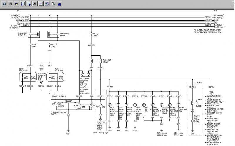 2003 Honda Civic Radio Wiring Diagram