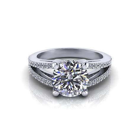 Split Engagement Ring   Jewelry Designs