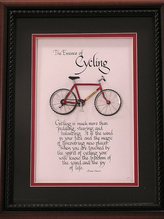 The Essence of Cycling - Without Frame