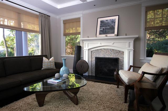 new york style living room - zdjęcie od MIKOŁAJSKAstudio