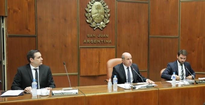 Uñac inició periodo de Sesiones Ordinarias: anunció obras viales clave y la del nuevo Penal