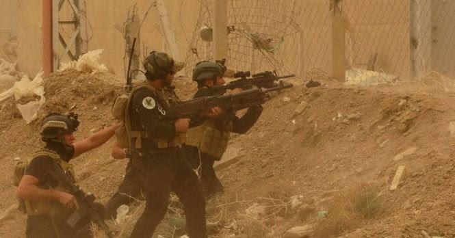 Hình ảnh Iraq tấn công như vũ bão, nhóm đầu sỏ IS bỏ của chạy lấy người số 3