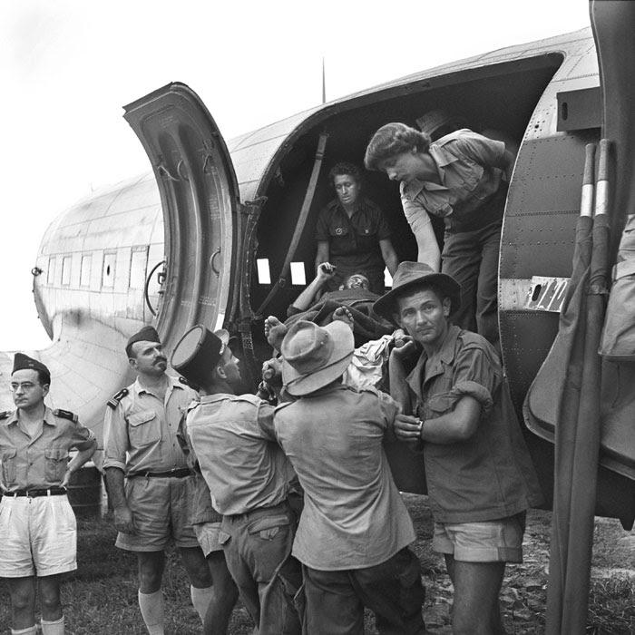 Эвакуация раненых ДБФ
