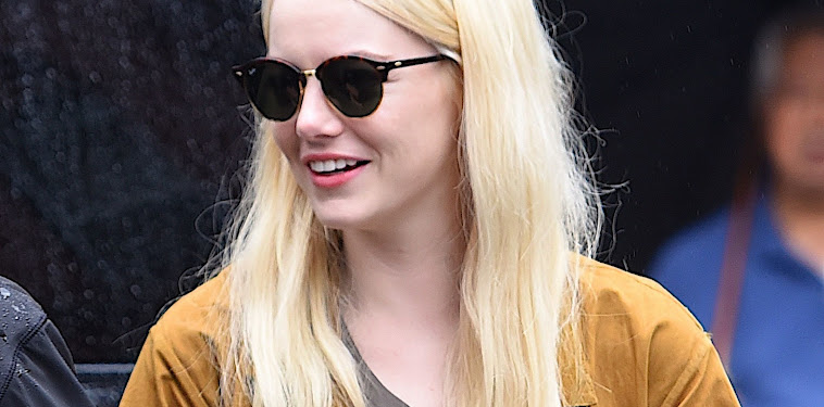 Platinum Blonde Emma Stone Blonde Hair