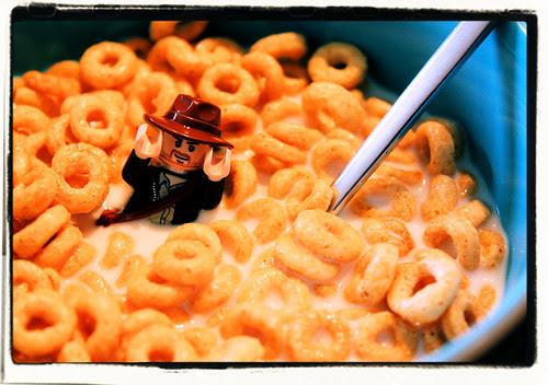 Indiana Jones and the Ocean of Cheerios