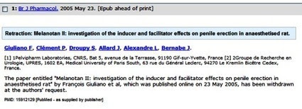 Correcting Errors in PubMed | Medical Librarians Of the World (MeLOW) | Scoop.it