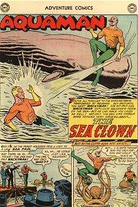 Adventure #233 Aquaman Splash Page