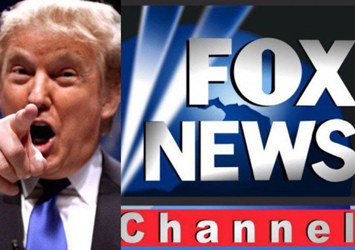 Image result for Trump and FOX News
