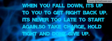 Fall Get Back Up Quotes
