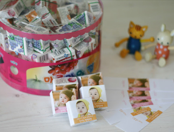 Dol Party Favor Idea Korean 1st Birthday
