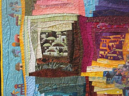 """""""Around the Block"""" by Karen Eckmeier, close up 1"""