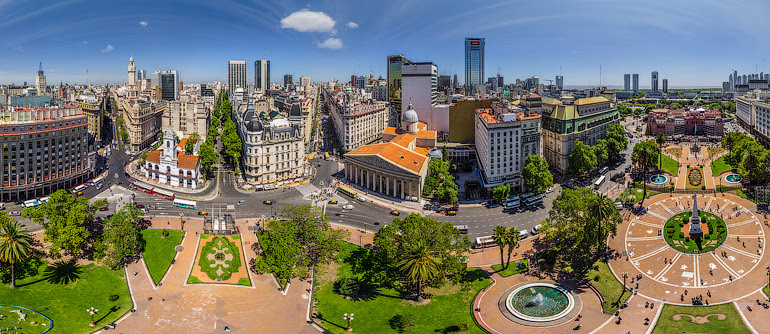 Buenos Aires, Argentina. Part II - AirPano.com • 360° Aerial Panorama • 3D Virtual Tours Around the World