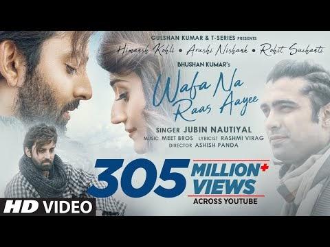 Wafa Na Raas Aayee Song Lyrics | Jubin Nautiya | Latest 2021