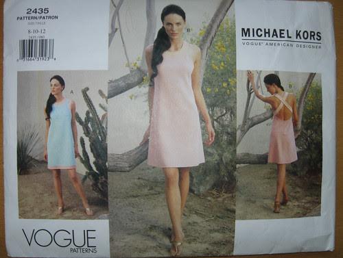 Vogue 2435 Kors pattern
