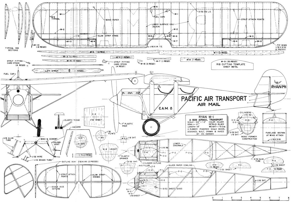 Woodwork Balsa Plane Plans PDF Plans