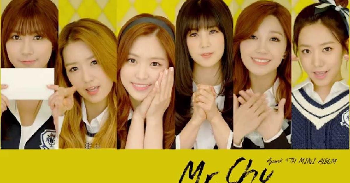 Lirik Lagu Korea: Lirik Apink - Mr. Chu (with Indo trans)