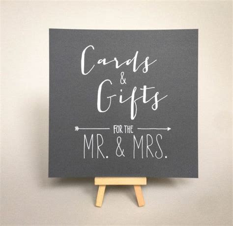 Best 25  Gift table signs ideas on Pinterest   Gift table