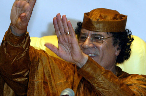 Libyan leader Muammar Gaddafi has been the subject of a plot by US imperialism to topple his government and seize the oil fields in this North African state. The New York Times has substantiated the allegations that the C.I.A. has been operating there. by Pan-African News Wire File Photos