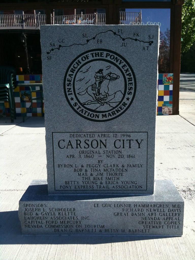 Pony Express Carson City