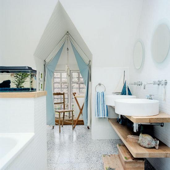 Nautical Bathroom Theme | Bathroom