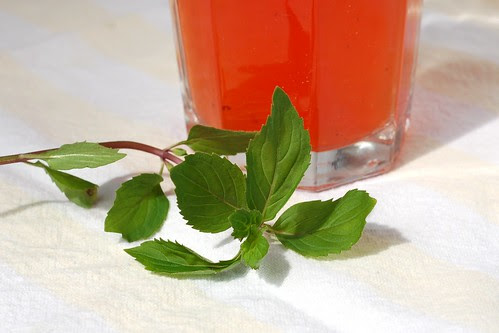Strawberry Mint Lemonade by Eve Fox, Garden of Eating blog, copyright 2012