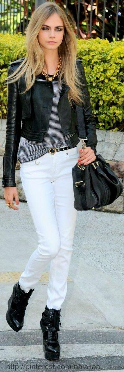 Street style - Cara Delevingne