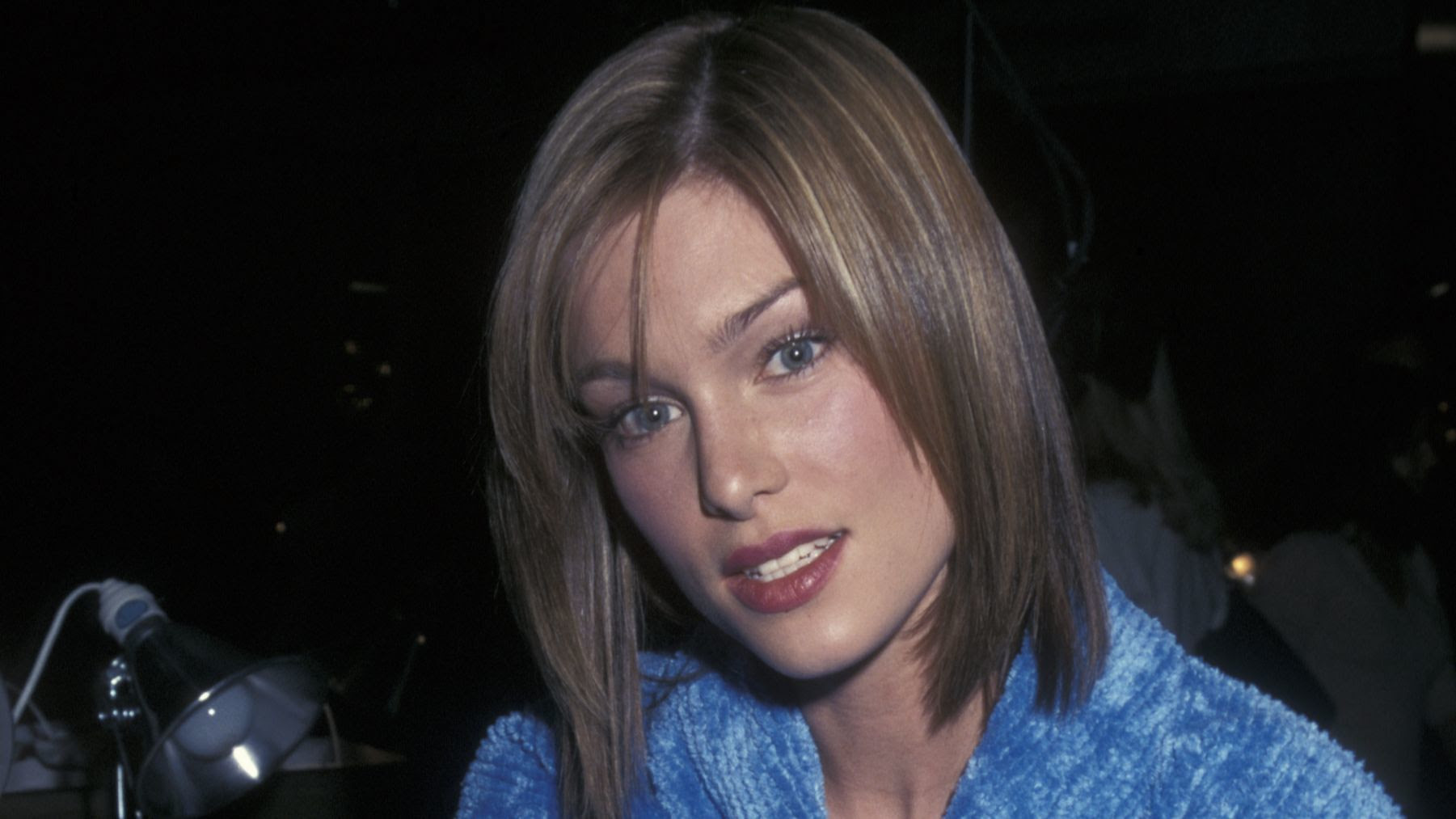 Model Keri Claussen Khalighi attends a 1998 Victoria's Secret fashion show in New York.