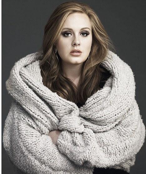 Em movimento: Adele está procurando um novo lar no país depois de ter sido dito que o smog de Londres pode prejudicar suas cordas vocais