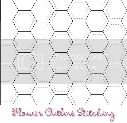 Texas Freckles Hexagons Thoughts Week Four Quilting