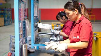 Εργαζόμενες σε συνεταιριστική επιχείρηση της Ισπανίας