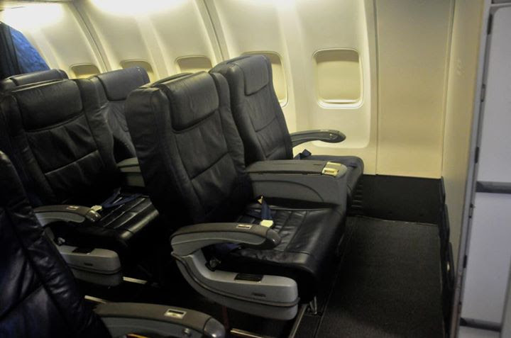 Camair Co's business class cabin