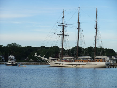 tall ship in Mystic