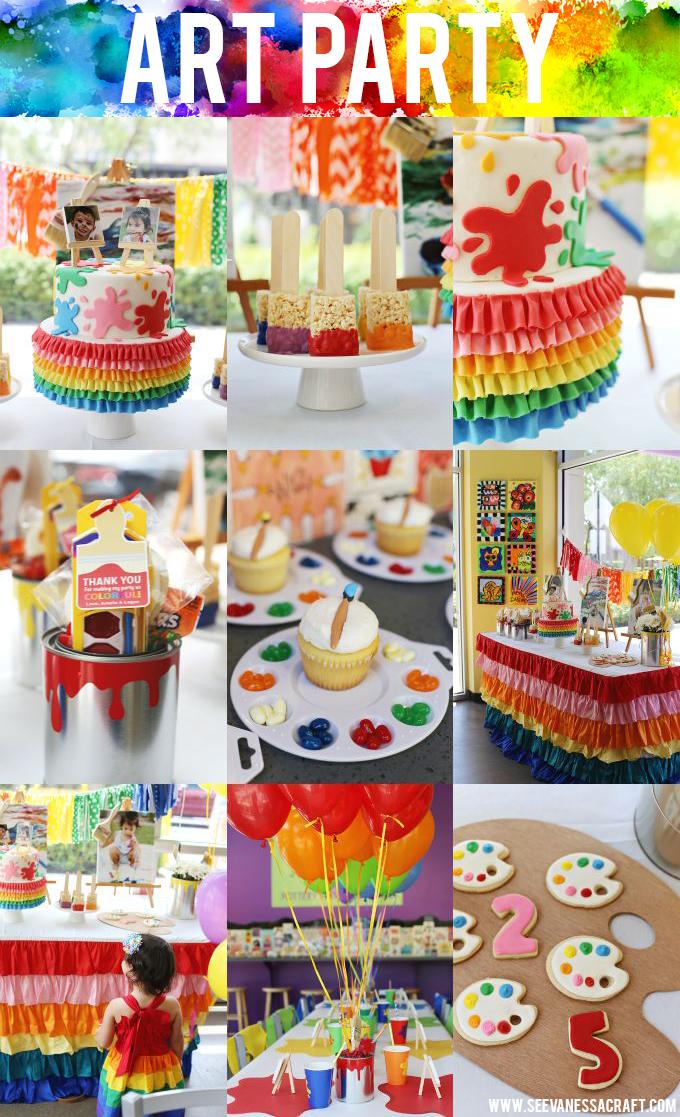 25 Fun Birthday Party Theme Ideas Fun Squared