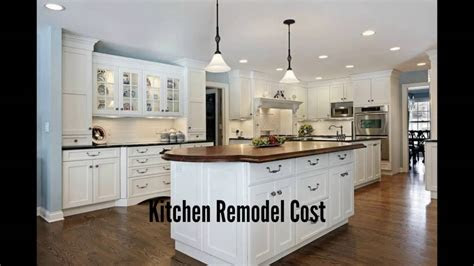 kitchen remodeling project cost ekb