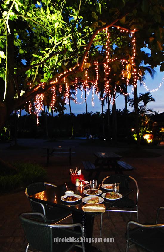 romantic buffet dinner