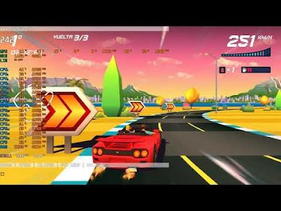 Horizon Chase Turbo [GTX 1650 - Ryzen 3700x] Gameplay