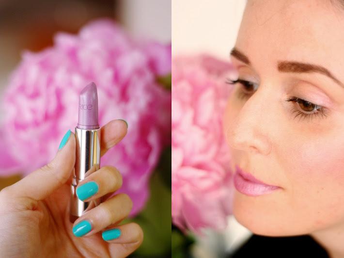 catrice meet violeta lilac lipstick