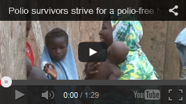 Video of the week: Polio survivors strive for a polio-free Nigeria