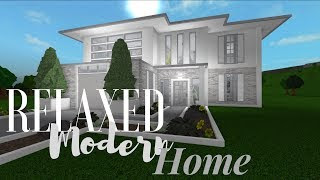 Roblox Bloxburg Modern Mini Mansion 50k 2019 June Free Roblox
