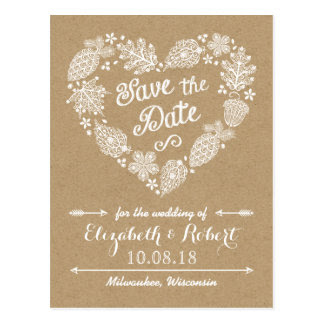 Rustic <br /> Save the Dates