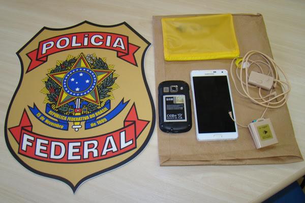 Material encontrado com candidato foi apreendido pela Polícia Federal; cearense foi preso em flagrante durante o Enem em Natal
