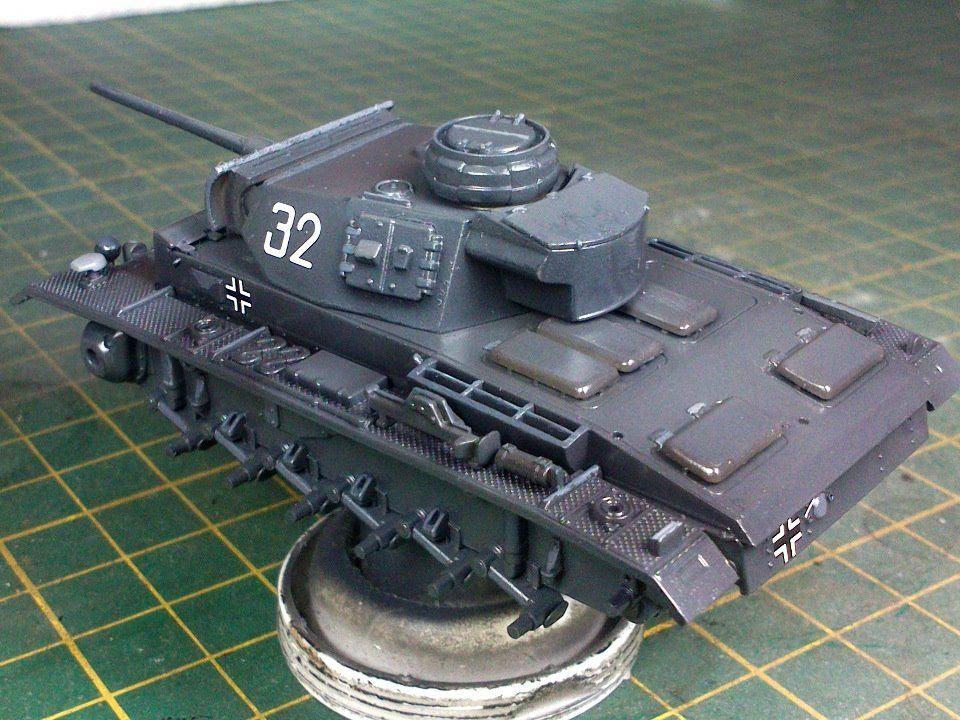 miniafv: Revell 1/72 Pz Kpfw III Ausf.L (by Murad Özer)