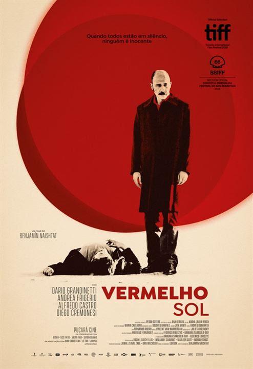 Vermelho Sol : Poster