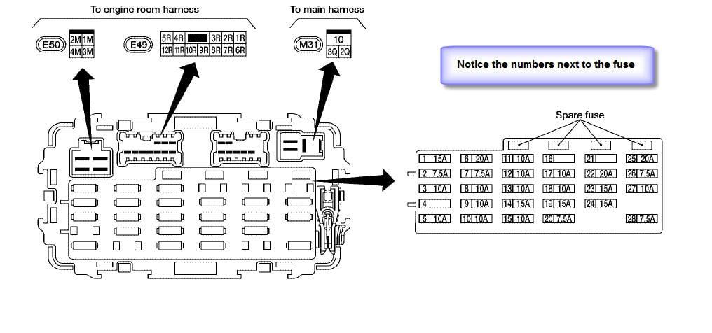Xterra 2006 Fuse Diagram