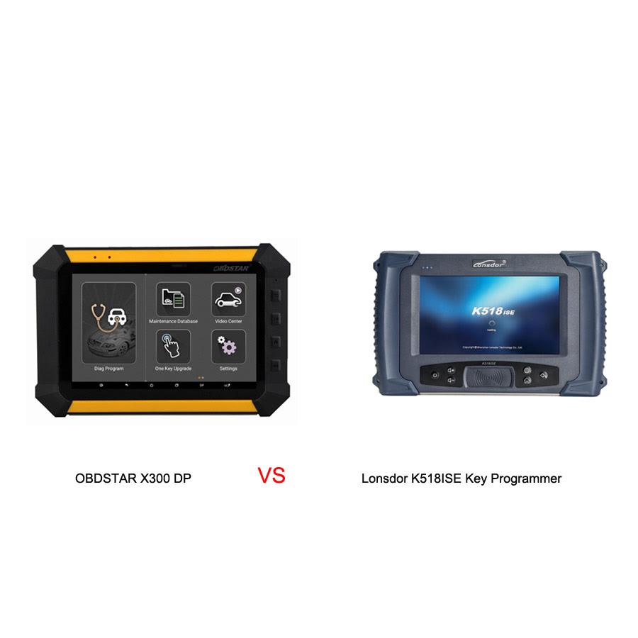 obdstar-x300dp-vs-lonsdor-k518ise