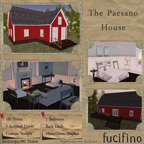 fucifino.paesano house (red) La Venta Eventa